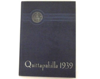 1939 Quittapahilla Lebanon Valley College PA Yearbook
