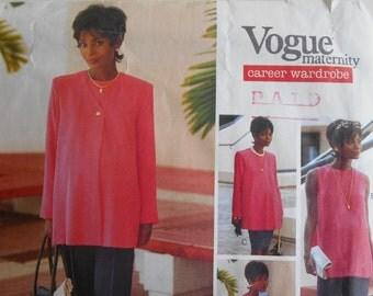 Vogue 1559 Maternity Career Wardwrobe sewing pattern sz 12,14,16 separates