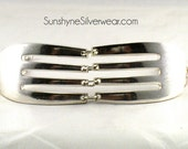Silver Fork Bracelet