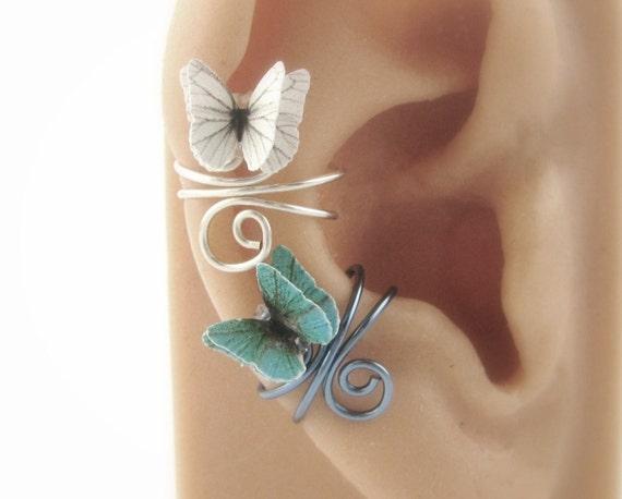 PICK 2 Butterfly Ear Cuffs