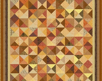 "NEW - AUTUMN GARDENS - 68"" - Quilt-Addicts Pre-cut Quilt Kit or Finished Quilt Double size*****"