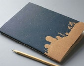 Night Sky Notebook - Constellation Journal - Dream Diary - Stargazer Sketchbook - Astronomy Journal - Starry Night Notebook