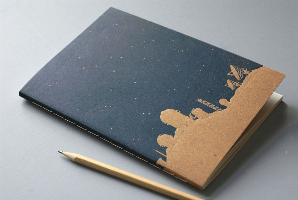 Silhouette 150 page lined journal  notebook