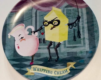 Whipping Cream plate