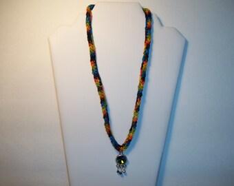 Swarovski Rainbow Rivoli Necklace by Chubbychick