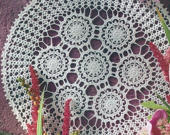 Crocheted Doily - Delight free shipping