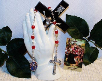 Unbreakable Chaplet of St. Boniface - Patron Saint of Tailors and Brewers
