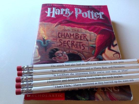 Harry Potter 2 Wrapped Pencil Set