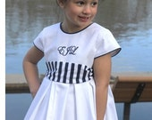 Spring Lily - Ellie Inspired Pleated Cap Sleeves Lined Dress PDF pattern  - sizes 1-16