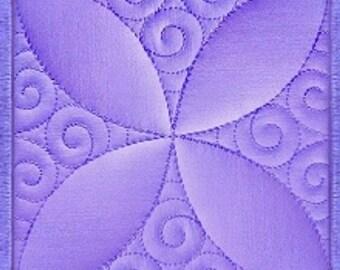 Machine Embroidery Design Quilt Block