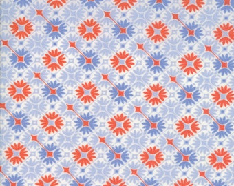 Prism Print in Opal from the Sunnyside Collection, by Moda