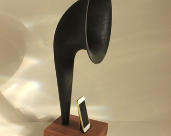 iHorn - iPhone - iPod - Acoustic  Speaker Horn -  Old Time Speaker System for your iDevice