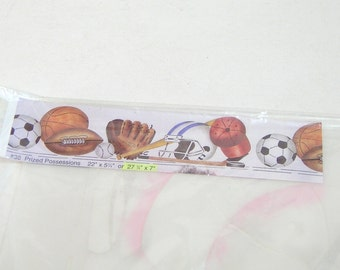 Yowler & Shepps Stencils Sports Theme Border Prized Possessions