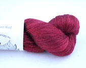 Silk Lace- 100% Silk  - Signature Red
