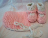 Pretty In Pink Baby Set (0-3 Months)