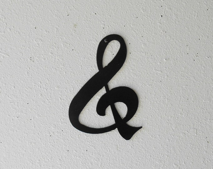 Ampersand  Metal Wall Decor &