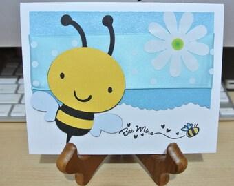 Bee mine love card