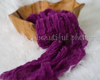 Orchid Cheesecloth Baby Wrap Cheese Cloth Newborn Photography