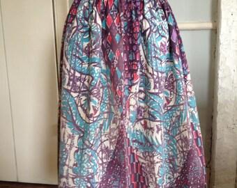 1950's Cotton Skirt