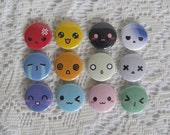 Pinback Button Faces - Set of 12