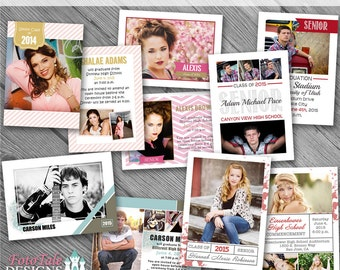 Instant Download- These are the Days Grad Ann Collection- custom photo templates for photographers on Whcc, Millers and ProDigitalPhot