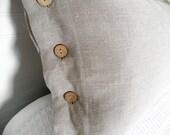 Linen Pillow Sham, Linen Sham, Pillow Cover, Bed Pillow Sham, 100% Flax Linen