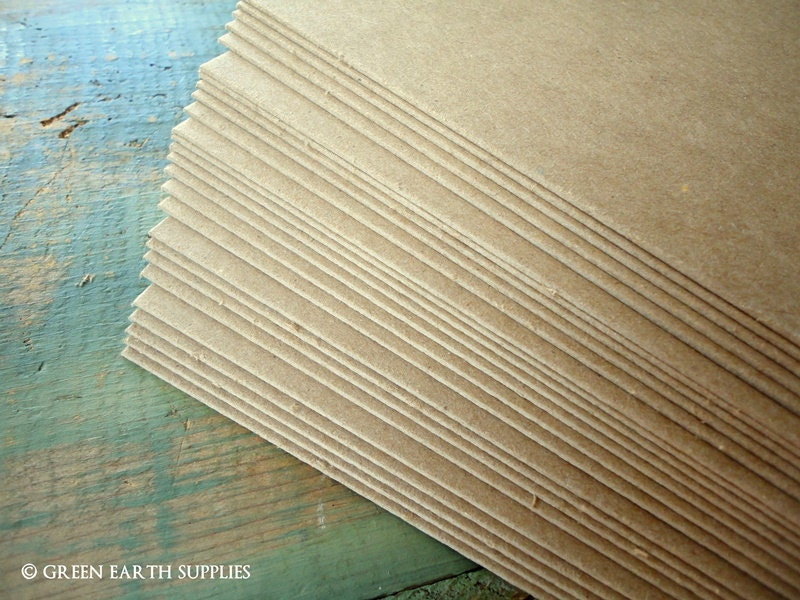 Thick pt chipboard sheets kraft brown