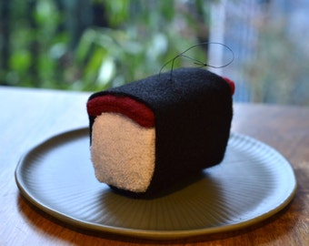Spam musubi (sushi) ornament