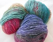 Noro Silk Garden Lite 2112 (DK weight) Yarn 3 X BALLS