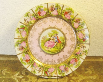 Romantic Renaissaance Plate