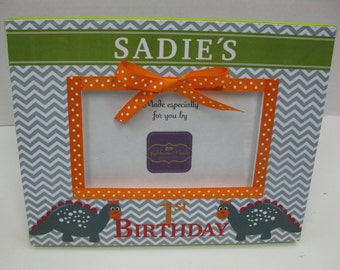 First Birthday Frame to match Invitation