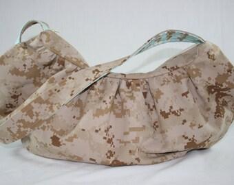 MARPAT USMC Hobo Bag Purse Military Digital Camo