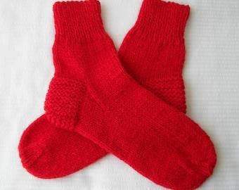 Knitting Pattern For Diabetic Socks : Popular items for Wool Knit Socks on Etsy
