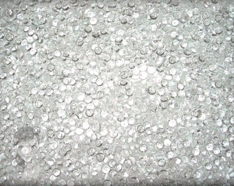 FREE Shipping OVER 1,200 Crystal Clear Dew Drops Pebbles Skittles Baubles Decorative Accents Scrapbooking Crafts Prima Flowers SBC