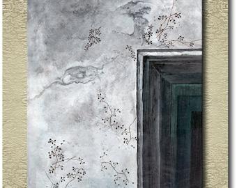 White Wall - Fine Art Print on heavy Cotton Canvas - unframed