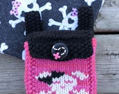 "Pink is ARRRGGGH-ight Bitty Bag Rucksack for 14-16"" sized dolls"