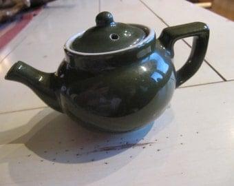 Mini Hall China Green Teapot