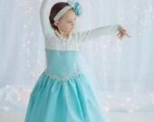 Queen Elsa Frozen ball gown dress sizes 18m to 5 girls