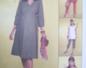 Maternity Wrap Top, Dress and Pants Size 6, 8, 10, 12 Easy McCalls 4472 UNCUT