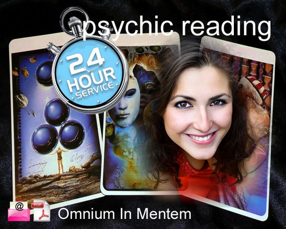 PSYCHIC READING - Same Day / 24hr - Clairvoyant Medium - Email with Pdf