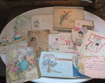 Sale* - 50 pc. card collection -family tree -ooak~one family over the years~over 50 pieces