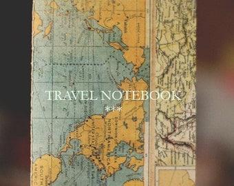 Handmade travel notebook