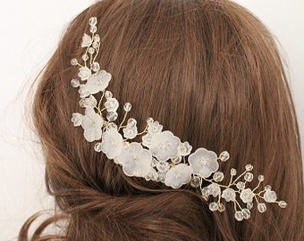 Bridal comb, hairpiece, bridal accessories