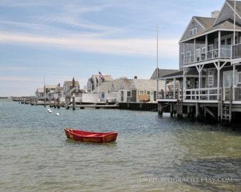 Nantucket Art, Cottage Decor, Nantucket Harbor, Yellow Dog, Sunken Ship, Coastal Home Decor, Summer Memories, Art Prints, Master Bedroom Art