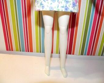 Light mint green sheer leggins tights for pullip