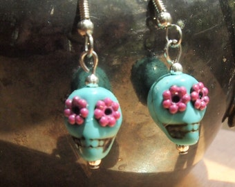 Day of the Dead or Calavera Earrings