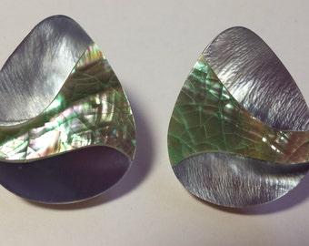 Shell Wave Earrings