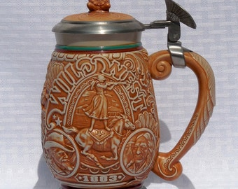 Avon Tribute to the Wild West Collector's Stein