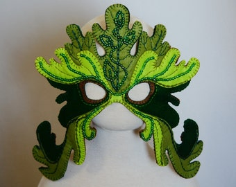 Leaf Mask PDF Pattern