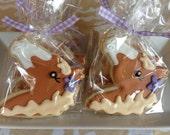 Sweet Palomino Horse Sugar Cookies